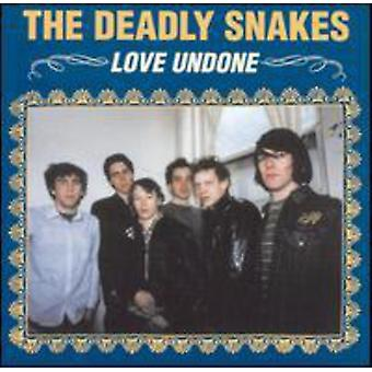 Deadly Snakes - Love Undone [CD] USA import