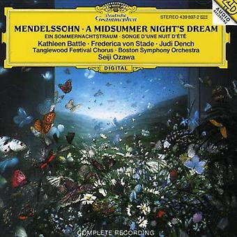 Slaget vid/Ozawa/Boston Symphony Orch. - Felix Mendelssohn Bartholdy: A Midsummer Night's Dream [CD] USA import