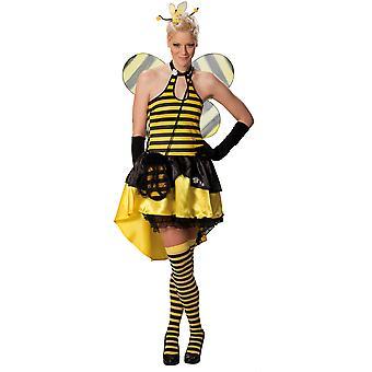 Animal costumes  Sexy bee dress ladies fancy dress