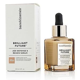 Bareminerals Brilliant Future Age Defense & Renew Serum - 30ml/1oz