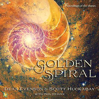 Evenson, Dean / Huckabay, Scott - Golden Spiral [CD] USA import