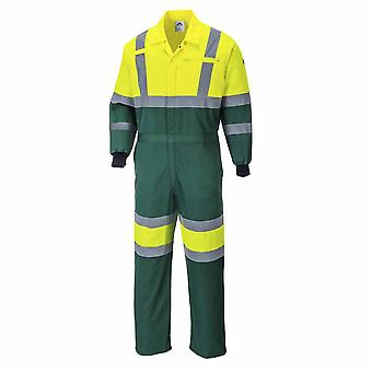 Portwest - X Hi-Vis Safety Workwear Coverall Boilersuit