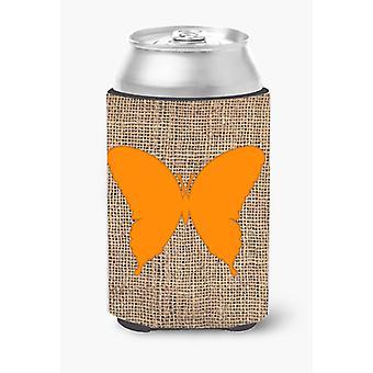 Farfalla della tela da imballaggio e arancio lattina o bottiglia bevanda isolante Hugger BB1048
