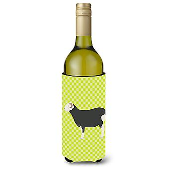 Herwick Sheep Green Wine Bottle Beverge Insulator Hugger
