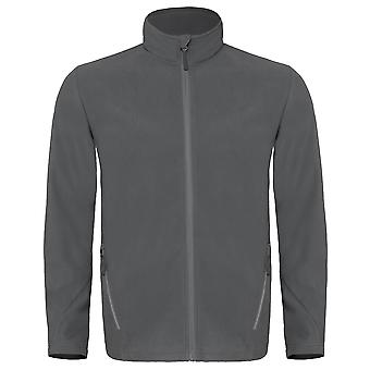 B&C Mens Coolstar Ultra Light Full Zip Fleece Top