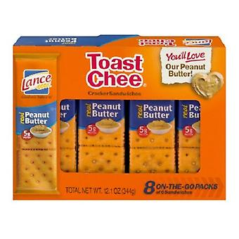Lance Toast Chee Peanut Butter Sandwich Crackers
