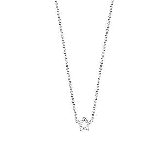 Zirconi ESPRIT donna catena collana argento Twinklet Glam ESNL92454A420