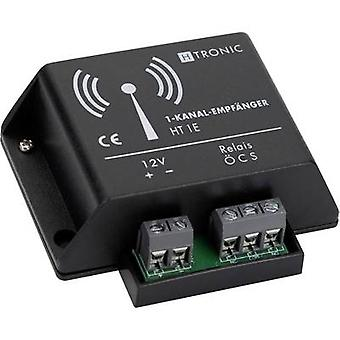 H-Tronic HT1E Wireless receiver 1-channel Frequency 868.35 MHz 12 V DC