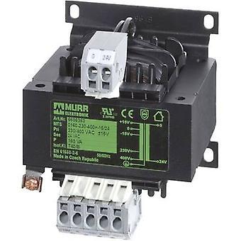 Murr elektronikk 6686306 kontroll transformator, isolasjon transformator 1 x 230 V, 400 V 1 x 230 V AC 320 VA