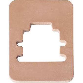 Hirschmann 733 273-002 GMN 209-3 platte Seal voor Contact vakken aantal pins:-