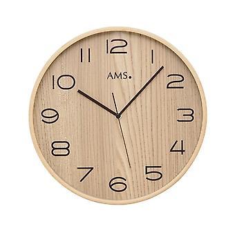 שעון קיר רדיו AMS-5514