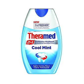 Theramed Cool Mint 2 in 1 Toothpaste & Mouthwash
