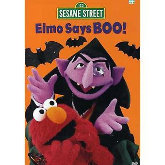 Sesame Street - Elmo Says Boo [DVD] USA import