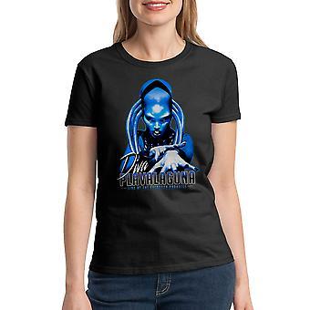 T-shirt noir le cinquième élément Diva Plavalaguna femmes