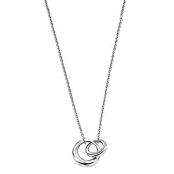 Elements Silver Interlocking Links Necklace - Silver