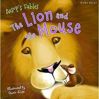 Aesops favole il Leone e il topo