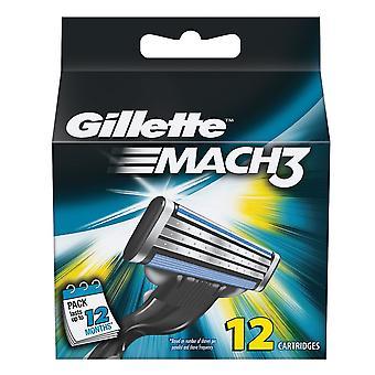Gillette Mach3 12-Pack