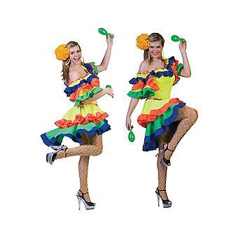 Costume costumes femmes Mesdames Samba