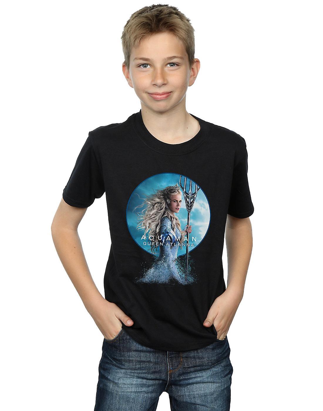 DC Comics Boys Aquaman Queen Atlanna T-Shirt