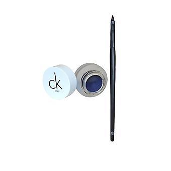 Calvin Klein CK Ein Eyeliner Gel mit Pinsel-Blauer Haze