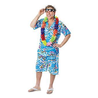 حلي هاواي الرجل.