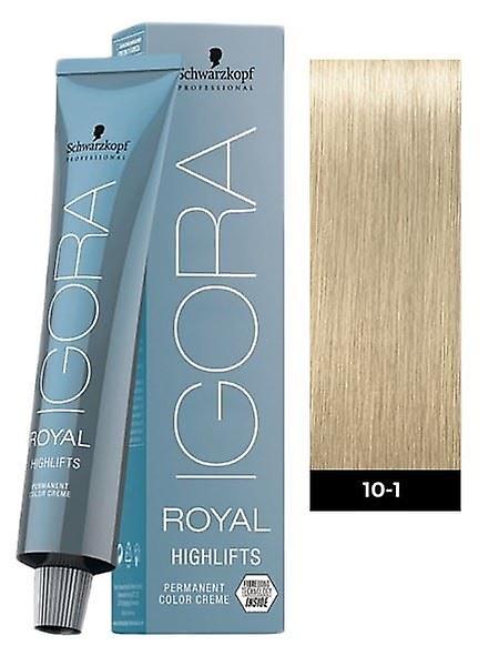 Schwarzkopf Igora Royal Highlifts 10-1 Ultra Blond Cendre 60ml