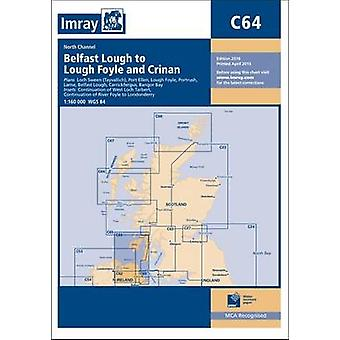 Imray Chart - North Channel - Belfast Lough to Lough Foyle and Crinan