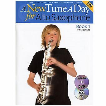 A New Tune A Day Alto Sax 1 Book CD&DVD