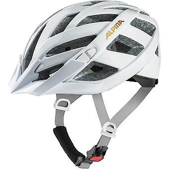 Alpina p Granny of classic bike helmet / / white/sparkling wine