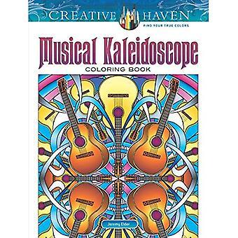Kreativa oas musikaliskt Kalejdoskop målarbok