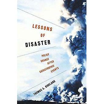 Lecciones del desastre: cambio en la política después de eventos catastróficos