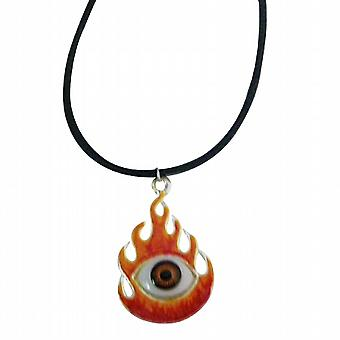 Burning Eye kaulakoru musta sointu