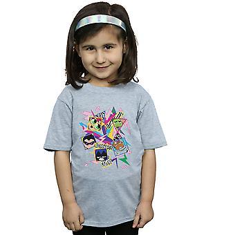 DC Comics девочки Teen Titans идти 80s иконы футболку
