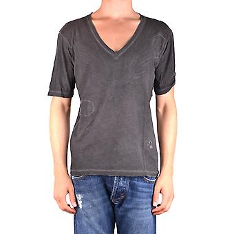 Dsquared2 Ezbc008081 Mænd's Grey Cotton T-shirt