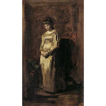 50 vuotta sitten, Thomas Eakins, 24x 15,5 cm