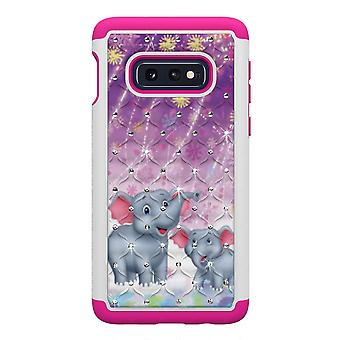 Samsung Galaxy S10e TPU-Skal Armor Extra Tåligt - Elephants