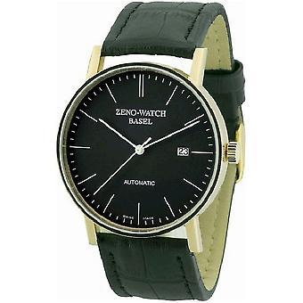 Zeno-Watch Miesten Watch Bauhaus automaattinen 18ct kultaa 4636-GG-i1