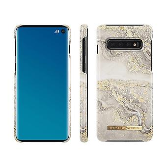 iDeal Of Sweden Samsung Galaxy S10-Sparkle Greige Marble