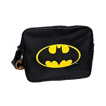 Batman Logo Black Messenger Bag