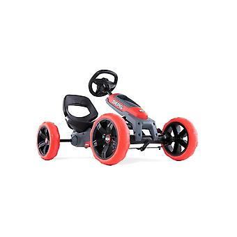 BERG Reppy Rebel Pedal Junior Go Kart With Soundbox Red