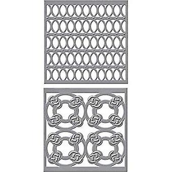 Spellbinders Shapeabilities Tiled Spheres Dies (S4-766)