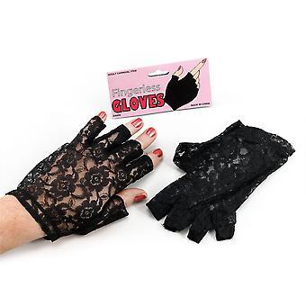 Bristol novinka Dámske/Dámske rukavice bez prstov čipka