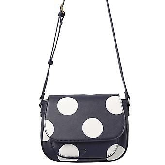Joules Darby Printed Pu Sac de selle - Navy Spot