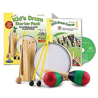 Alfred's van drumset Course complete Starter Pack: alles wat je nodig hebt om vandaag te spelen!, boek, CD, & accessoires (Kid's Drum Course)