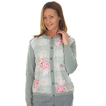 EUGEN KLEIN Eugen Klein Pink And Grey Cardigan 8215 92070 83