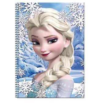 Frozen/Frost, A4 Rutat block, 80 leaves-Elsa