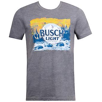 Busch Light Hikers Logo Grey Tshirt