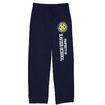 X-men egendom Xavier skolan Unisex pyjamas byxor