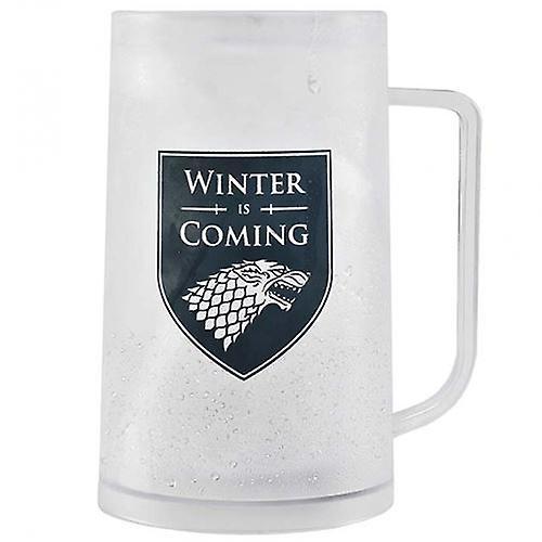 Winter Is Coming Game of Thrones Freezer Tankard