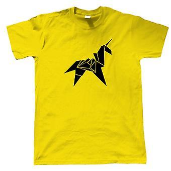 Origami Unicorn Blade Runner Film Ispirato, Mens T-Shirt - Regalo di fantascienza per lui